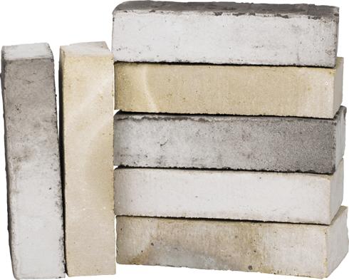 mursten forbrug pr m2